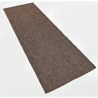 Ives Light Brown Outdoor Area Rug