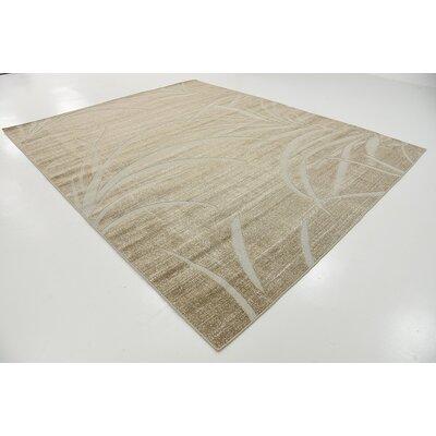 Spathariko Beige Indoor/Outdoor Area Rug Rug Size: 8 x 10