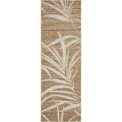 Light Brown Indoor/Outdoor Area Rug