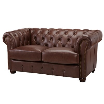 Laila Stationary Leather Sofa