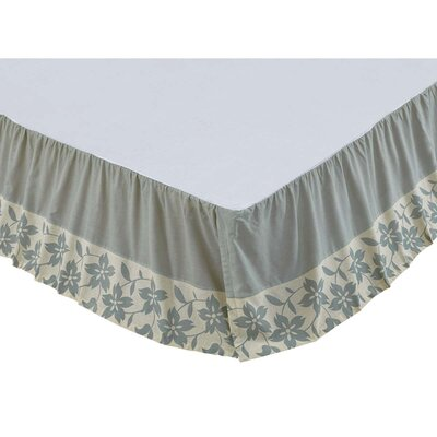 Groveland Bed Skirt Size: King, Color: Sage