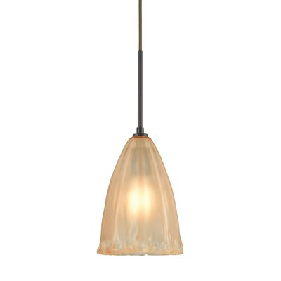Mejorado 1-Light Mini Pendant Color: Oil Rubbed Bronze