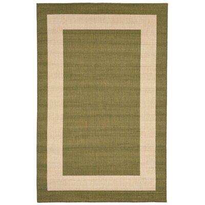 Sloane Green Indoor/Outdoor Area Rug Rug Size: 410 x 76