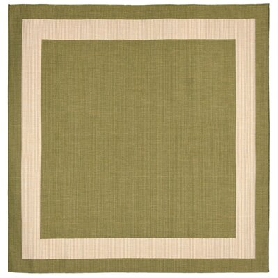 Bynum Green Indoor/Outdoor Area Rug Rug Size: 111 x 211