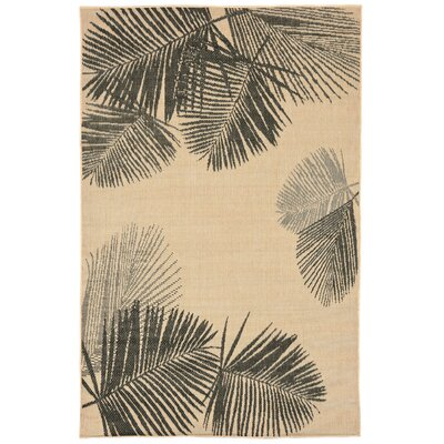 Cecile Natural Indoor/Outdoor Area Rug Rug Size: 410 x 76