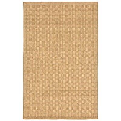 Sloane Beige Indoor/Outdoor Area Rug Rug Size: 33 x 411