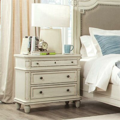 Waverley 3 Drawer Nightstand