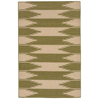 Sloane Green Indoor/Outdoor Area Rug Rug Size: 111 x 211