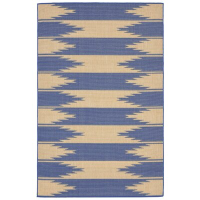 Bynum Blue Indoor/Outdoor Area Rug Rug Size: 33 x 411