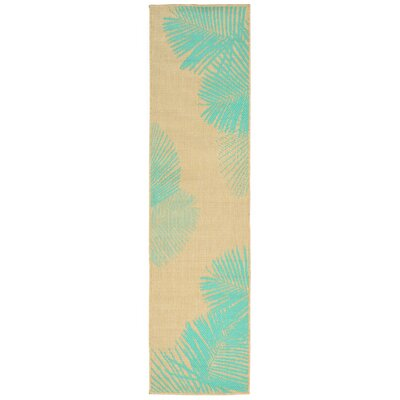 Sloane Natural Indoor/Outdoor Area Rug Rug Size: Runner 111 x 76