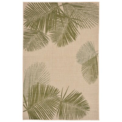 Cecile Natural Indoor/Outdoor Area Rug Rug Size: Rectangle 33 x 411