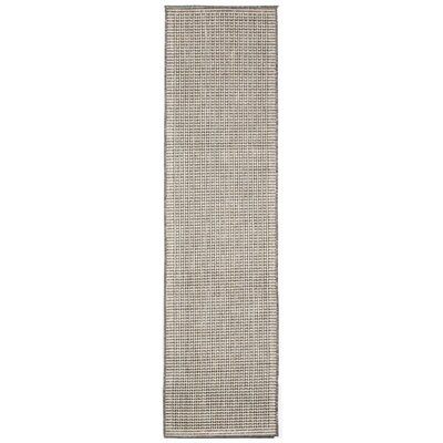 Cecile Texture Silver/Ivory Indoor/Outdoor Area Rug Rug Size: Rectangle 710 x 910