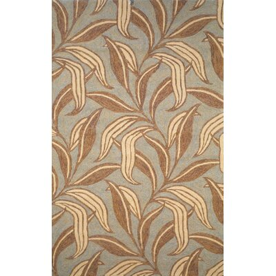 Demirhan Driftwood Leaf Outdoor Rug Rug Size: Rectangle 76 x 96
