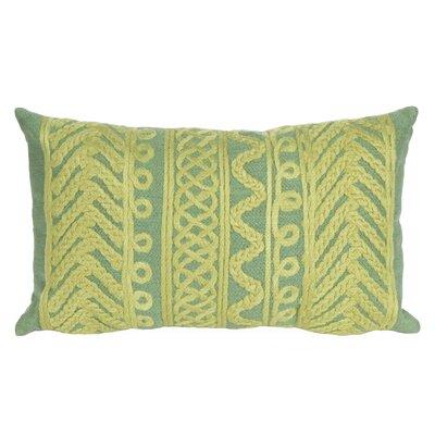 Deryneia Grove Indoor/Outdoor Lumbar Pillow Color: Sage