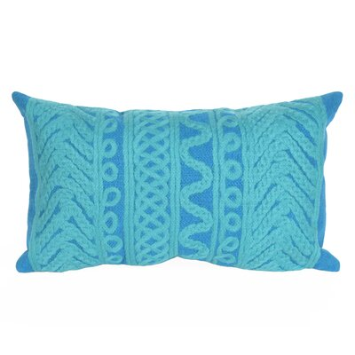 Deryneia Grove Indoor/Outdoor Lumbar Pillow Color: Green