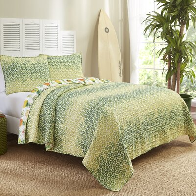 Dhekelia Reversible Quilt Set Size: King