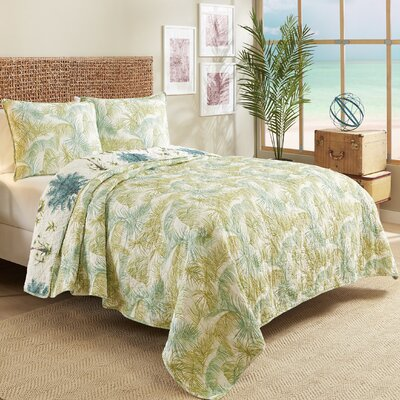 Dipkarpaz Reversible Quilt Set Size: Twin