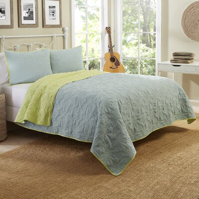 East Beach Reversible Quilt Set