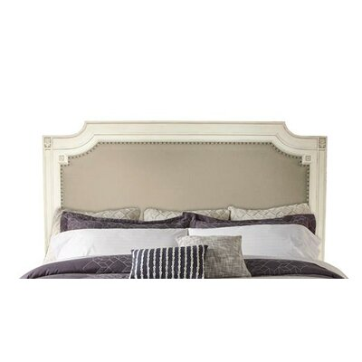 Waverley Carved Upholstered Panel Headboard Size: Queen