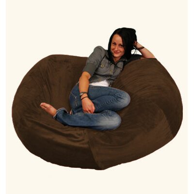 Breton Bean Bag Upholstery: Pebble - Chocolate