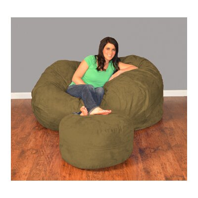 Breton Bean Bag Upholstery: Micro Suede - Olive