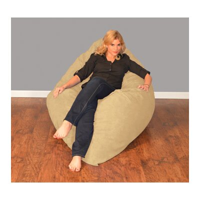 Breton Bean Bag Lounger Upholstery: Micro Suede - Camel