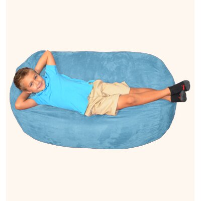 Breton Bean Bag Lounger Upholstery: Sky Blue