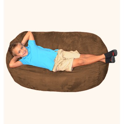 Breton Bean Bag Lounger Upholstery: Chocolate