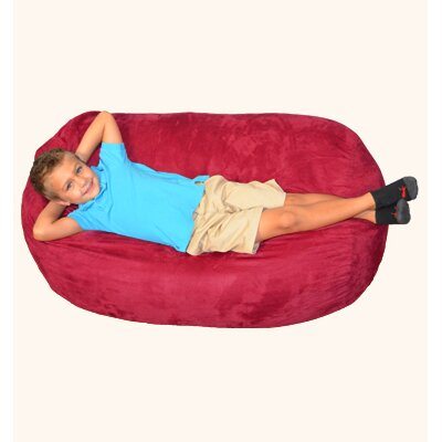 Breton Bean Bag Lounger Upholstery: Cinnabar