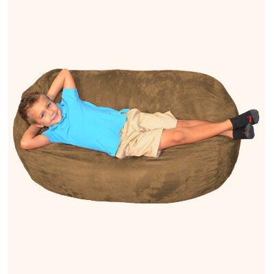 Breton Bean Bag Lounger Upholstery: Cocoa