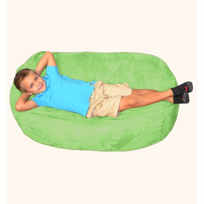 Breton Bean Bag Lounger Upholstery: Lime