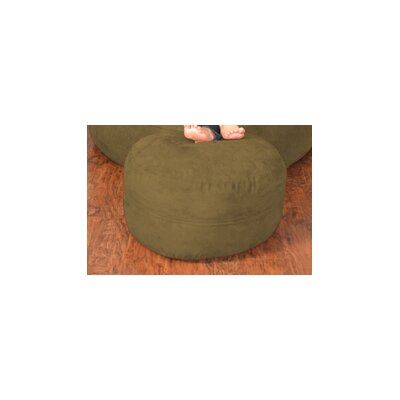 Breton Bean Bag Ottoman Upholstery: Micro Suede - Olive