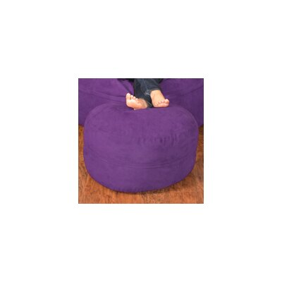 Breton Bean Bag Chair Upholstery: Micro Suede - Purple