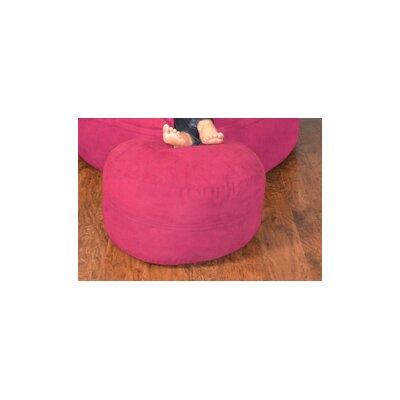 Breton Bean Bag Ottoman Upholstery: Micro Suede - Lipstick