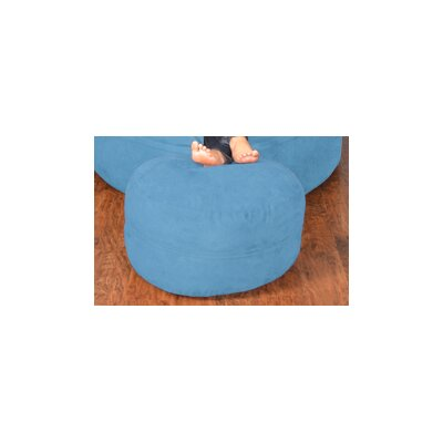 Breton Bean Bag Ottoman Upholstery: Micro Suede - Sky Blue