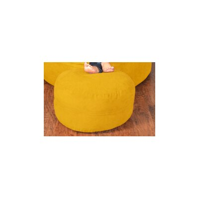 Breton Bean Bag Chair Upholstery: Micro Suede - Lemon