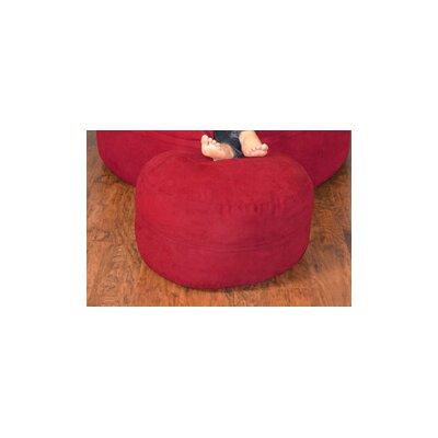 Breton Bean Bag Ottoman Upholstery: Micro Suede - Cinnabar