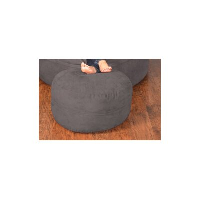 Breton Bean Bag Ottoman Upholstery: Micro Suede - Charcoal