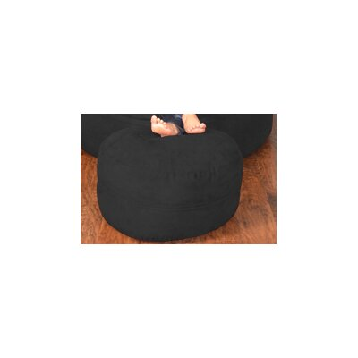 Breton Bean Bag Chair Upholstery: Micro Suede - Black