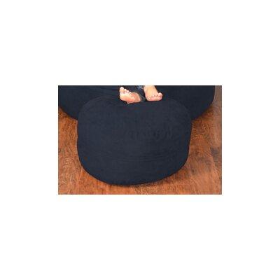 Breton Bean Bag Ottoman Upholstery: Micro Suede - Navy