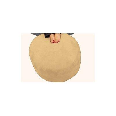 Breton Bean Bag Ottoman Upholstery: Pebble - Creme