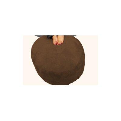 Breton Bean Bag Ottoman Upholstery: Corduroy - Cocoa