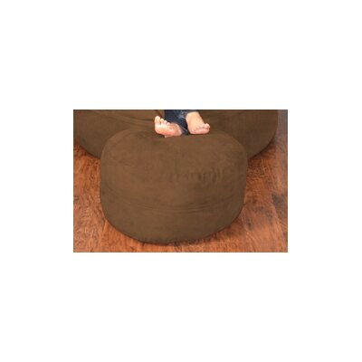 Breton Bean Bag Chair Upholstery: Micro Suede - Chocolate
