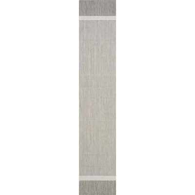 Linden Taupe Indoor/Outdoor Area Rug Rug Size: Runner 23 x 119