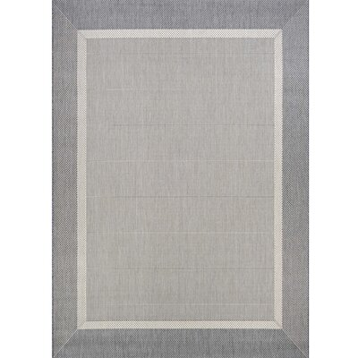 Linden Gray Indoor/Outdoor Area Rug Rug Size: Rectangle 2 x 37
