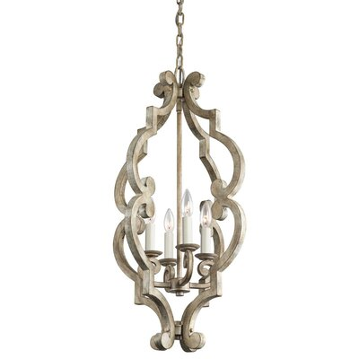 Dov 4-Light Candle-Style Chandelier