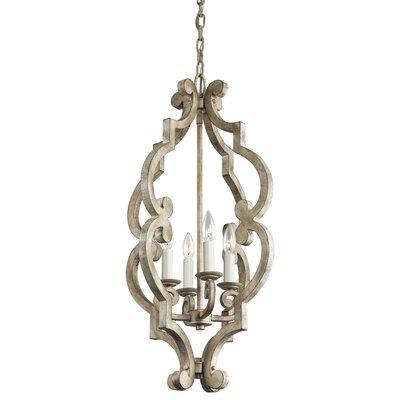 Kontea 4-Light Candle-Style Chandelier