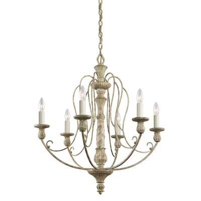 Dov 6-Light Candle-Style Chandelier