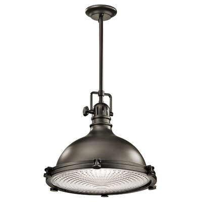 Dov 1-Light Metal Mini Pendant Color: Olde Bronze