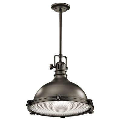 Dov Contemporary 1-Light Mini Pendant Finish: Olde Bronze